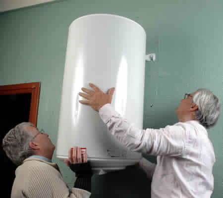 Installation boiler electrique