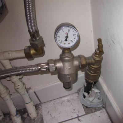 Pression vase expansion sanitaire